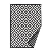 Covor reversibil Narma Viki, 140 x 200 cm, alb-negru