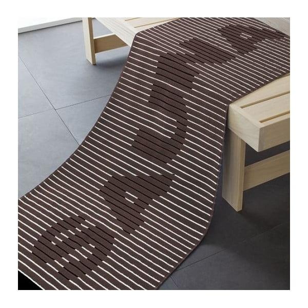 Ručník Sauna Brown, 180x70 cm