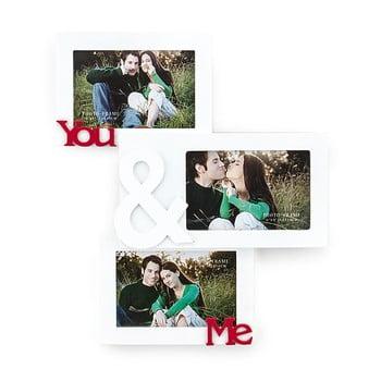 Ramă foto din lemn pentru perete Tomasucci You and Me pentru fotografii 10 x 15 cm