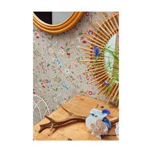 Krémová vliesová tapeta Pip Studio Flowers