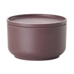 Fialová servírovací miska s víkem Zone Peili, 500 ml