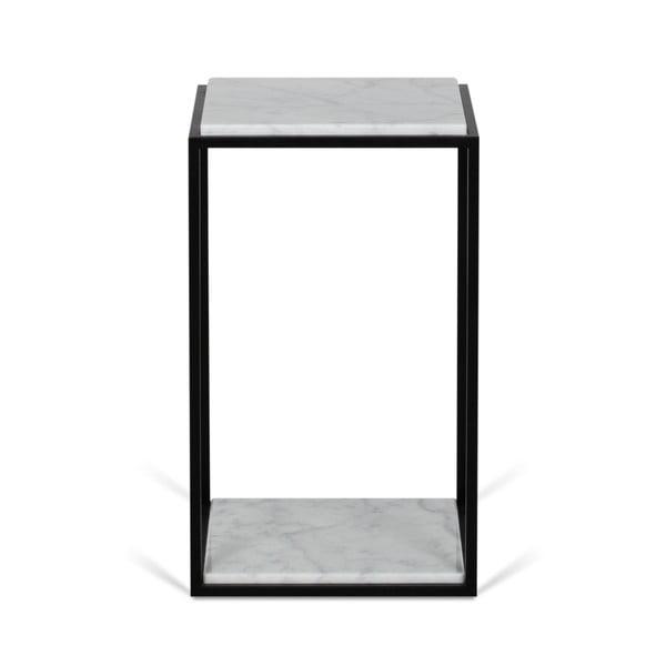 Odkládací stolek s deskou z bílého mramoru TemaHome Forrest