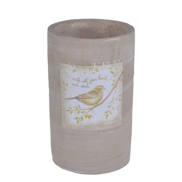 Keramická váza Bird, 20 cm