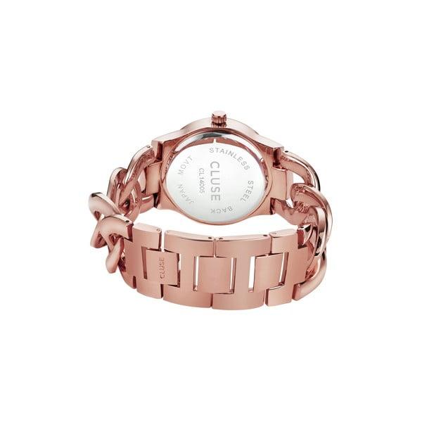 Dámské hodinky Elegante Stones Rose Gold/Mint, 38 mm