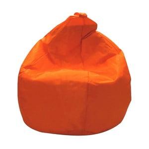 Oranžový sedací vak Evergreen House Droplet