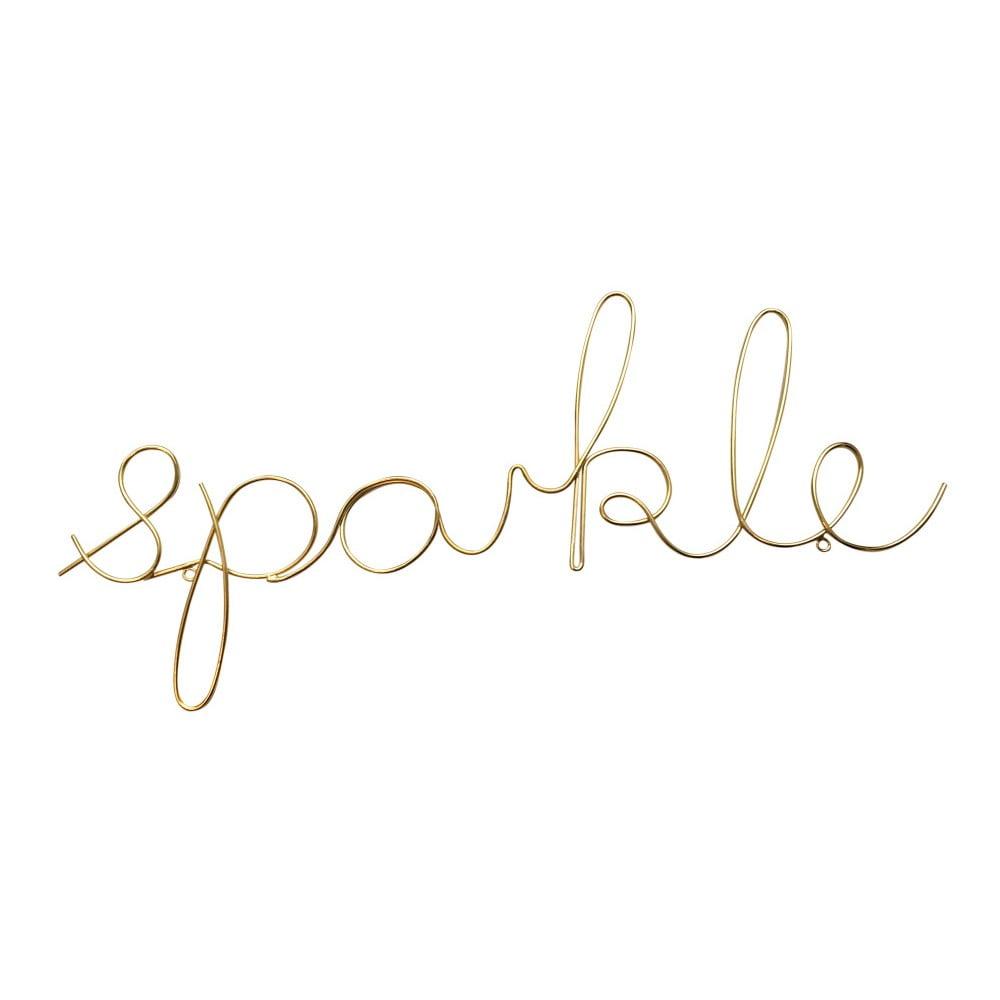 Dekorativní nápis ve zlaté barvě Bombay Duck Sparkle