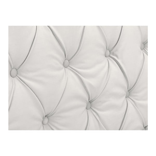 Bílé čelo postele Windsor & Co Sofas Queen, 156 x 120 cm
