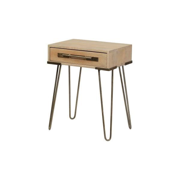 Konzolový stolek z masivního mangového dřeva Woodjam Nevada, šířka 43 cm