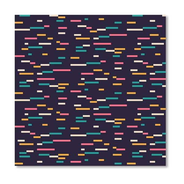 Plakát Pattern 3 od Florenta Bodart, 30x30 cm
