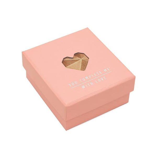 Puzzle se vzkazem Luckies of London Romantic Pink