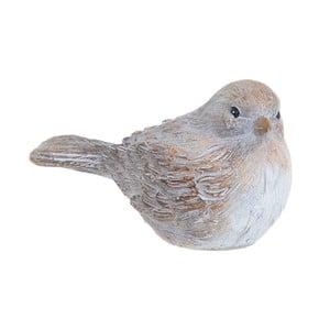 Dekorace ve tvaru ptáčka InArt, 11 x 7 cm