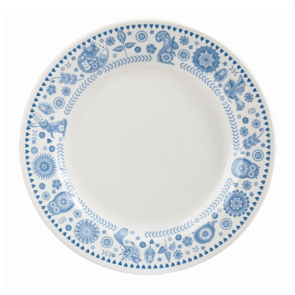 Talíř Churchill China Penzance Mint Border, Ø 26 cm