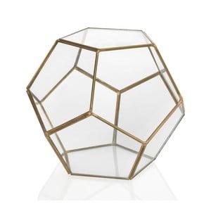 Geometrické terárium Gold