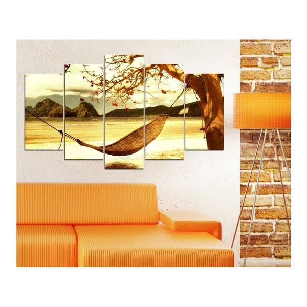 Tablou din mai multe piese Insigne Ward, 102 x 60 cm