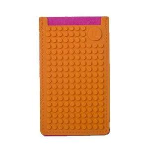 Univerzální malý obal na telefon PixelArt, fuchsia/orange