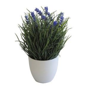 Umělá levandule v květináči Stardeco, 25 cm