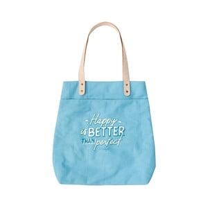 Modrá bavlněná taška Mr. Wonderful Perfect Tite
