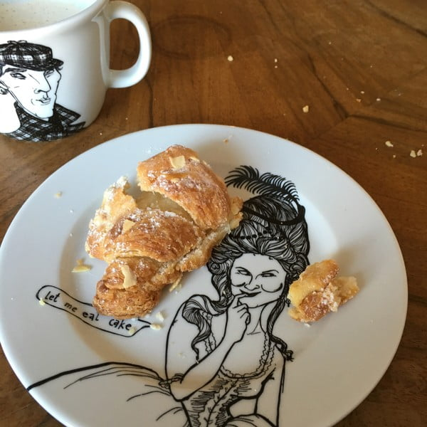 Talířek Marie Antoinette, milovnice sladkého