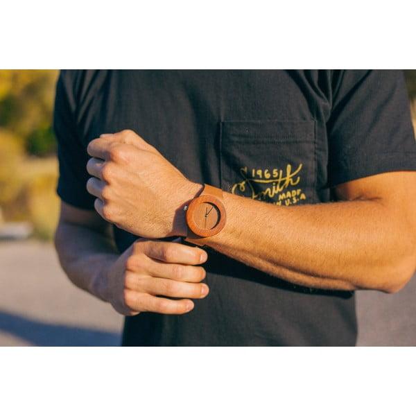 Dřevěné hodinky Analog Watch Co. Makore & Red Sanders