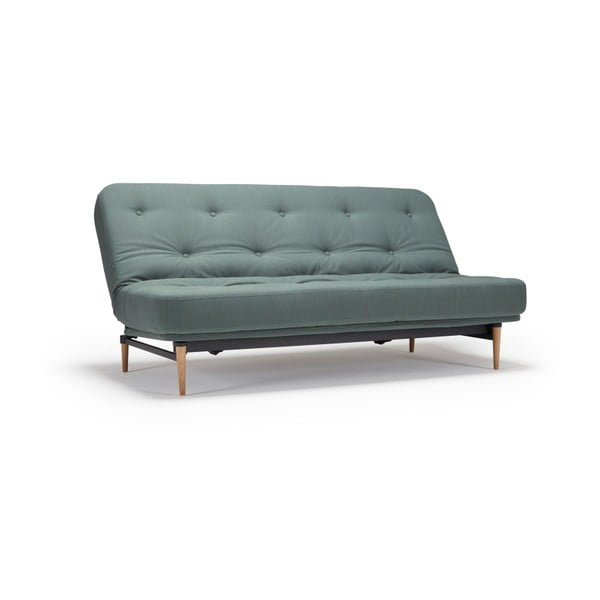Zelená rozkládací pohovka Innovation Colpus Elegance Green