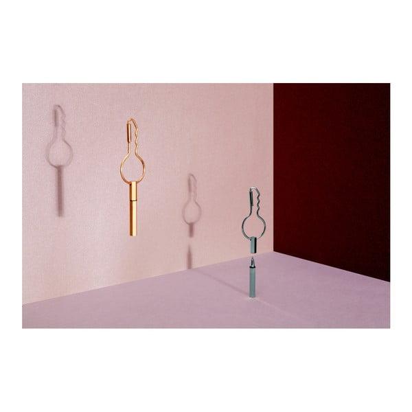 Spona na klíče s tužkou DOIY Keyring Pen Gold