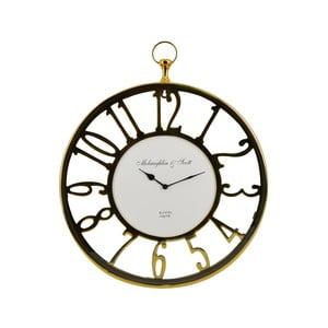 Kulaté hodiny Moycor Golden