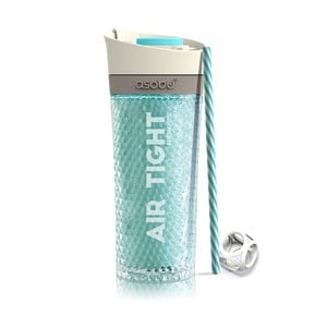 Modrá termolahev Asobu Pump & Chill, 500 ml