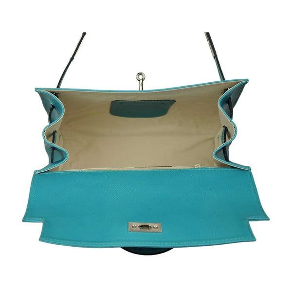 Kožená kabelka Grazia Turquoise