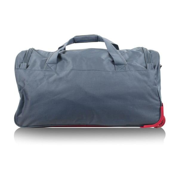 Modrá cestovní taška na kolečkách Infinitif Ascot, 41l