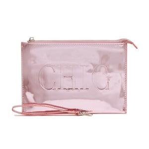 Růžová kosmetická taštička GO Stationery Champagne Chic