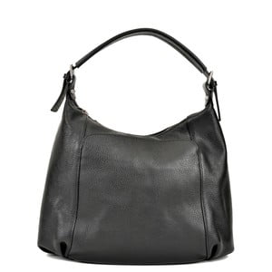Černá kožená kabelka Renata Corsi Francesca Mula