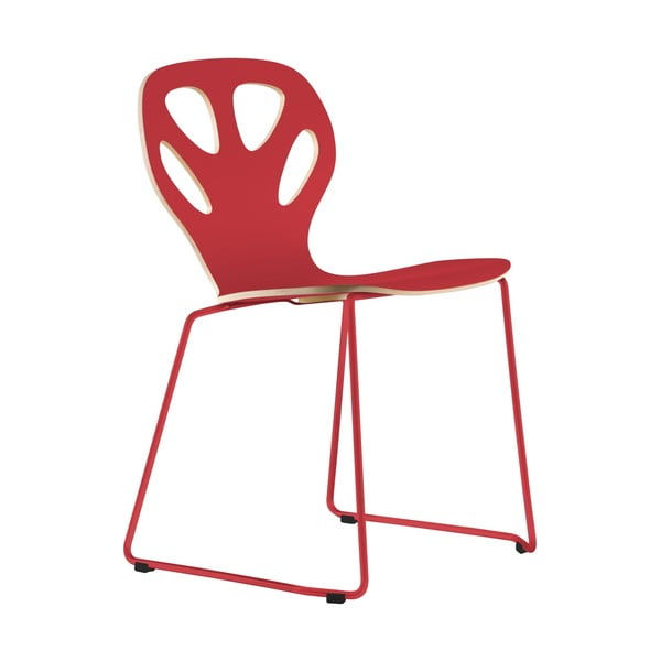 Židle Maple, červená