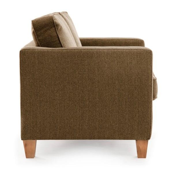 Canapea cu 2 locuri Vivonia Sorio, maro