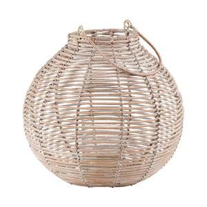 Ratanová lucerna Butlers Asia, ⌀ 30 cm