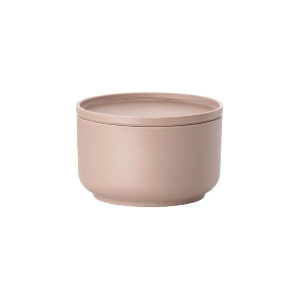 Růžová servírovací miska s víkem Zone Peili, 500 ml