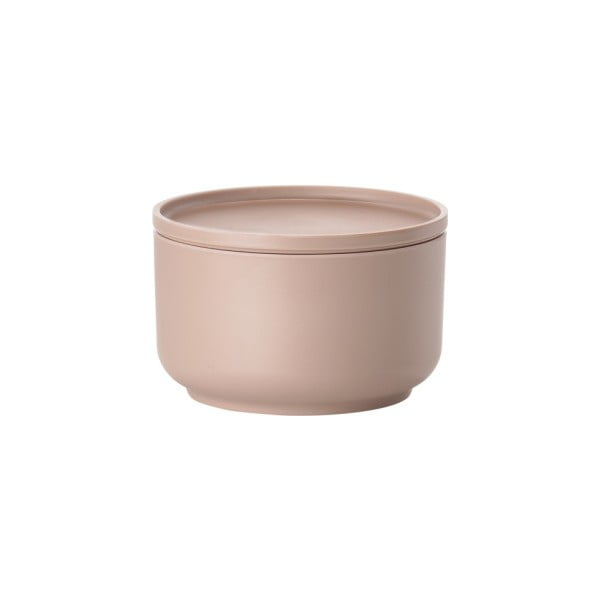 Bol servire cu capac Zone Peili, 500 ml, roz