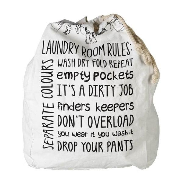 Pytel na špinavé prádlo Laundry Rules