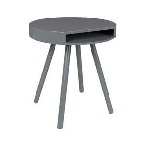 Šedý odkládací stolek Zuiver Hide & Seek
