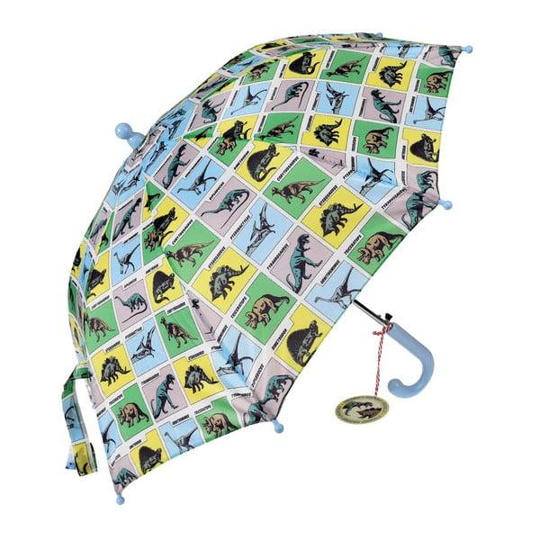 Detský dáždnik s rúčkou Rex London Prehistoric Land, ⌀62cm