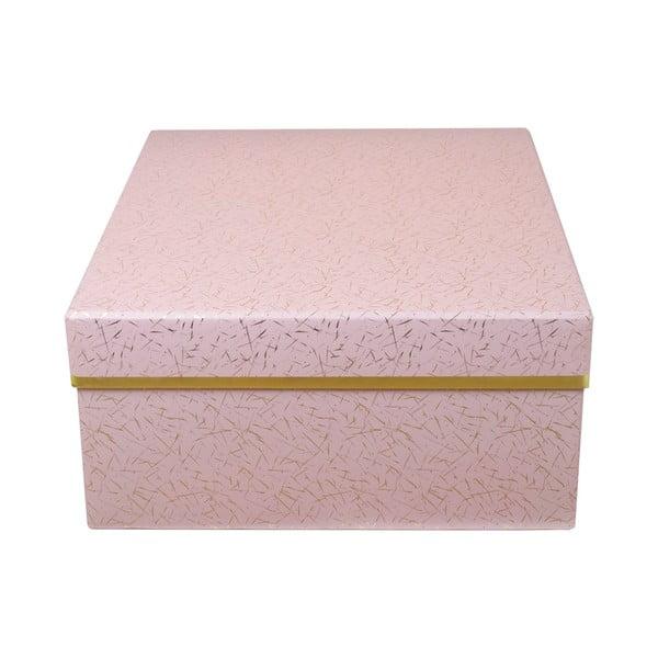 Úložná krabice Stockholm, růžová
