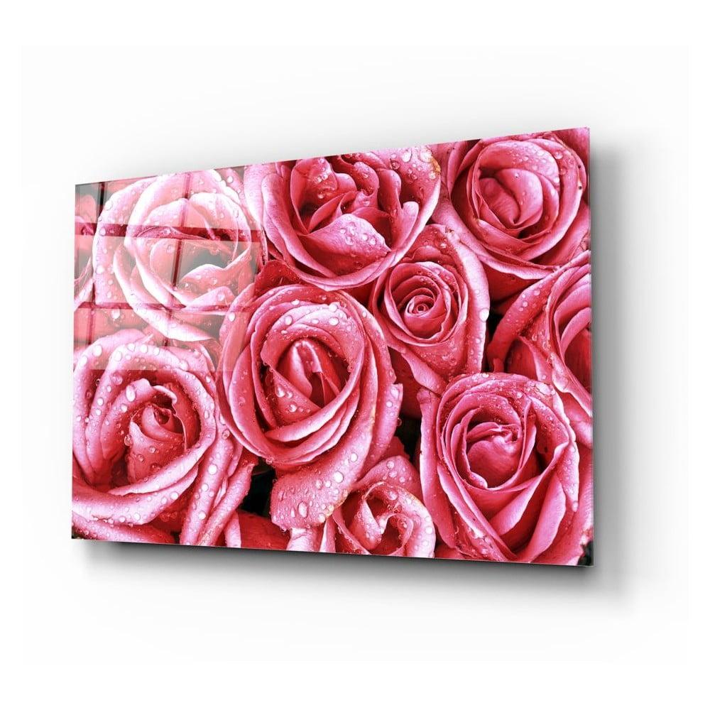 Skleněný obraz Insigne Pink Roses