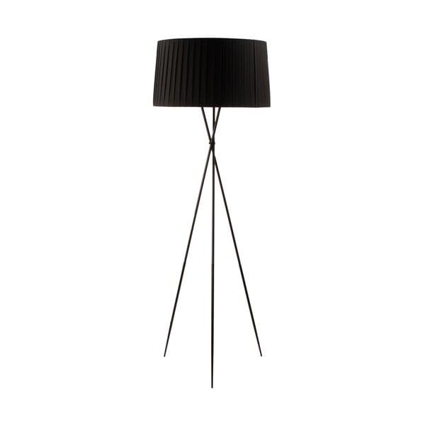 Stojací lampa Torino, černá