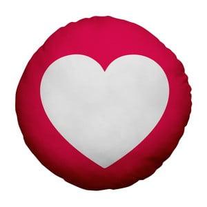 Polštář Emoji Heart, 39 cm