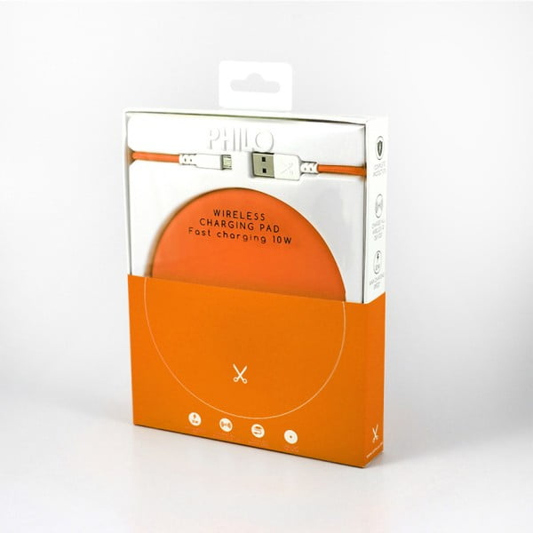 Stație pentru încărcat Philo Energy, portocaliu