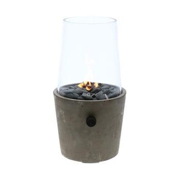 Lampă pe gaz Cosi Cement, înălțime 38 cm, beton