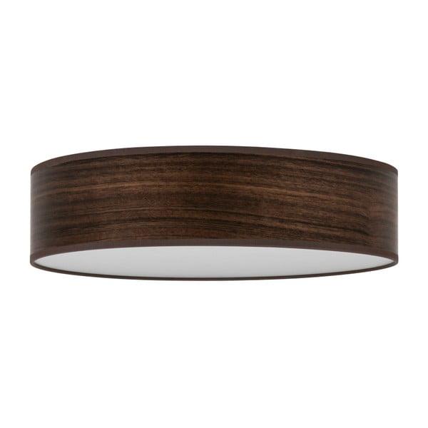 Ocho Clear sötétbarna mennyezeti lámpa furnér búrával, ⌀ 40 cm - Bulb Attack