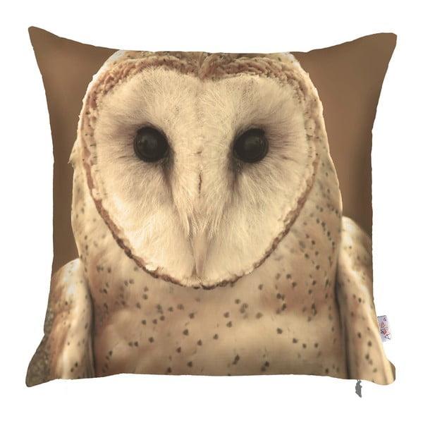 Owl párnahuzat, 43 x 43 cm - Apolena