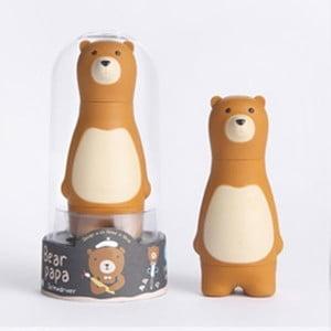 Hnědá sada šroubováků s vyměnitelnými nástavci Gift Republic Bear