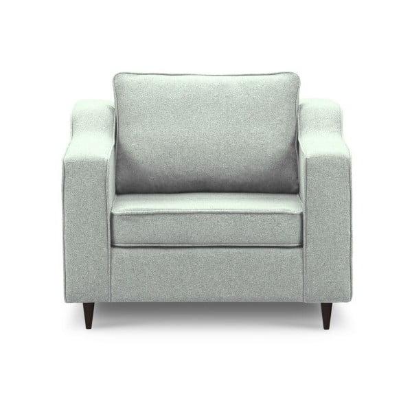 Jasnozielony fotel Mazzini Sofas Narcisse