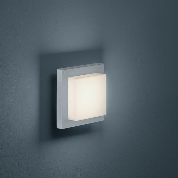 Venkovní nástěnné světlo Hondo Titanium, 14 cm